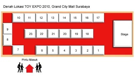 Floor plan for Capsule Corp: Toy Expo 2010