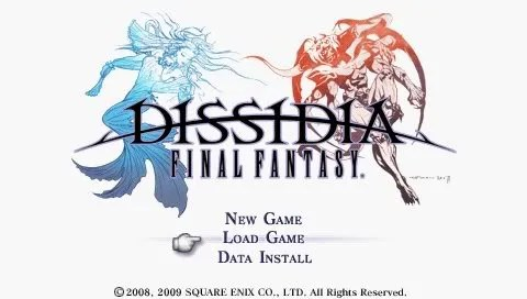 Dissidia: Final Fantasy versi USA akhirnya dirilis!
