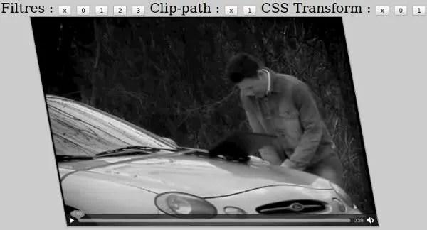 Transformasi dan filter realtime video dengan HTML 5