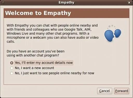 Empathy menggantikan Pidgin pada Karmic