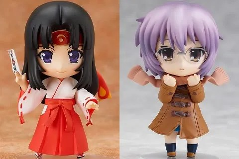 Nendoroid Tomoe and Nagato Yuki