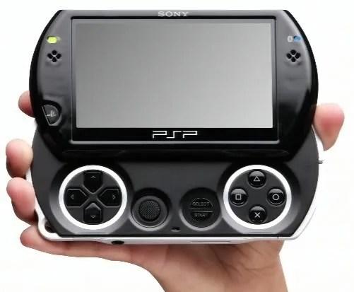 Sliding: Desain fisik PSP Go