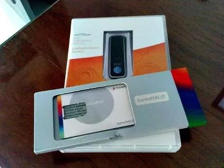 Paket Kartu HALO dan Modem USB Sierra