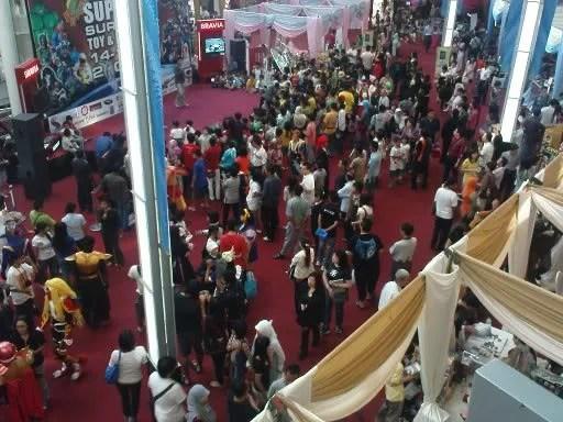 Suasana Surabaya Toy & Hobby Fair 2009