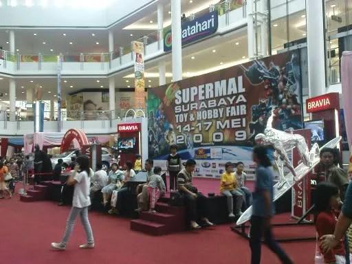 Surabaya Toy & Hobby Fair 2009 di Supermal
