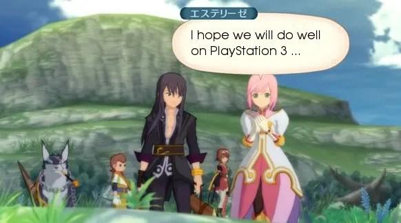 Tales of Vesperia untuk PS3