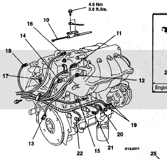 2002 Mitsubishi Eclipse Engine Compartment Diagram