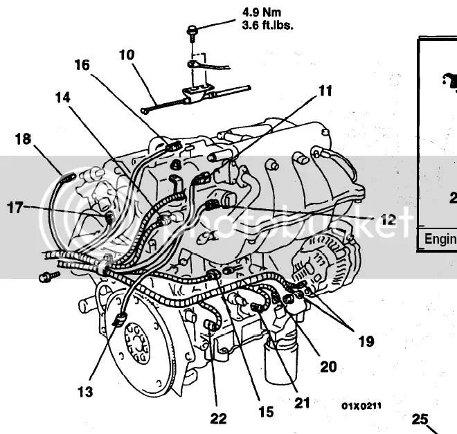 2002 Mitsubishi Eclipse Engine Compartment Diagram