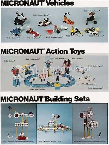 A MEGO Micronauts ad, from the Mego Museum