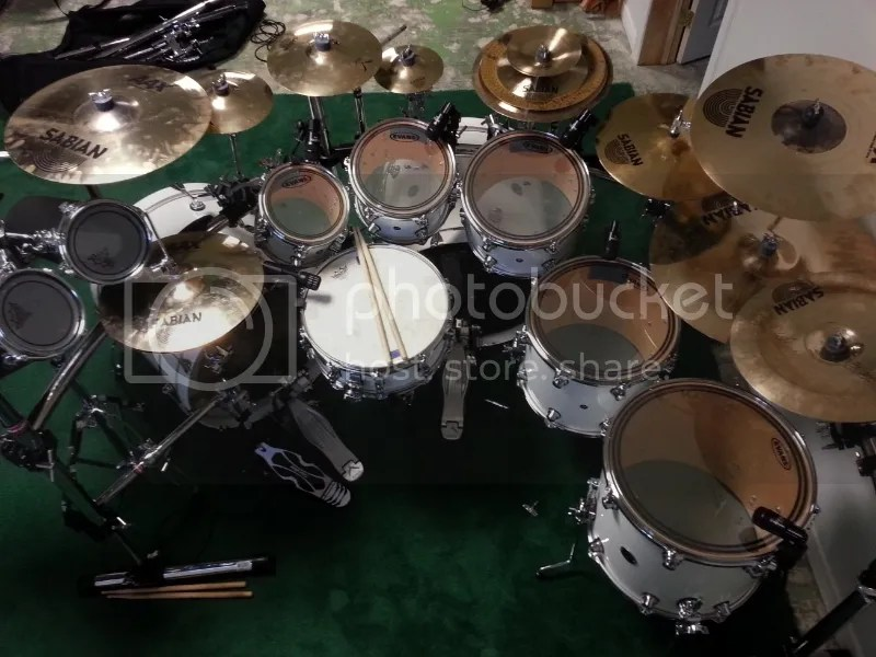 Dave Mcclain Drum Set