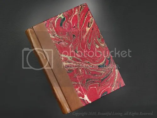 Fiorentina Leather Marbleized Journal