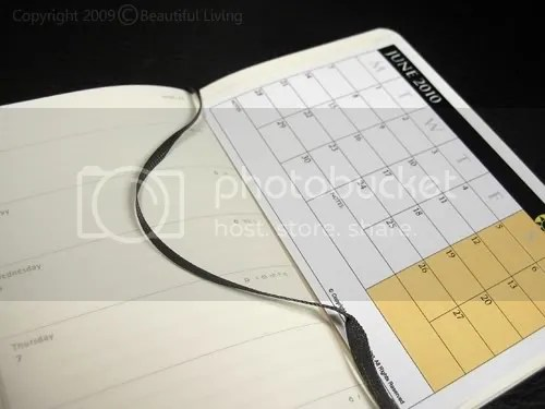 Use the Monthly Calendar as a Bookmark to Keep Your Monthly Overview Where You Need It.