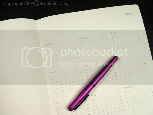 Leuchtturms 18 Month Master Book Planner provides a 2-year overview using small monthly calendars.
