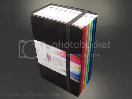 The Moleskine Volant Color a Day Daily Planner Set.