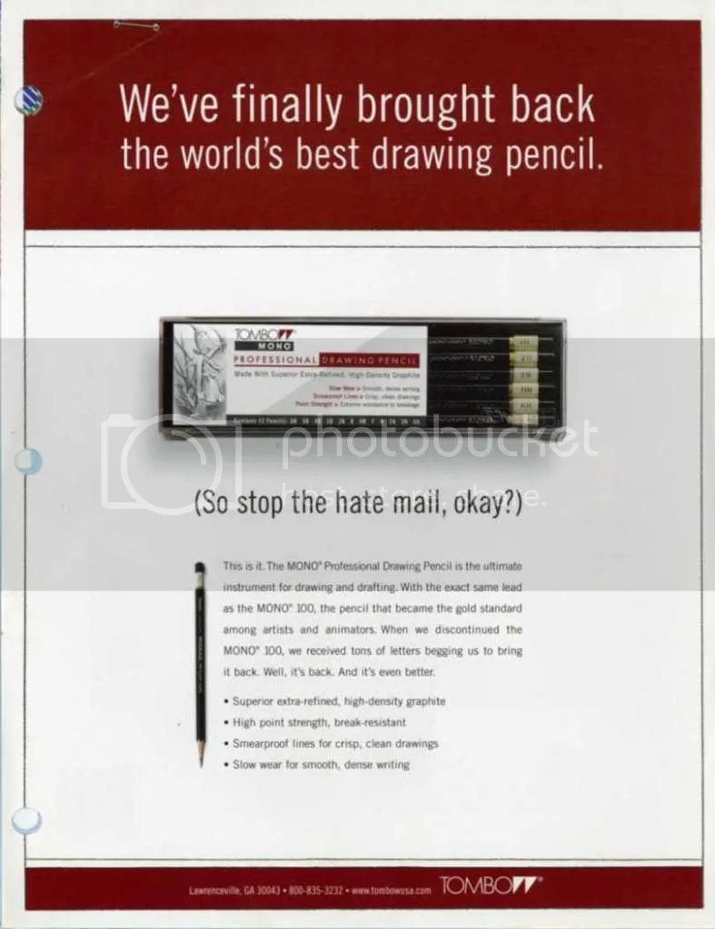 Tombow Mono Professional Ad.