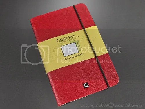 The Cartesio pocket, ruled notebook.