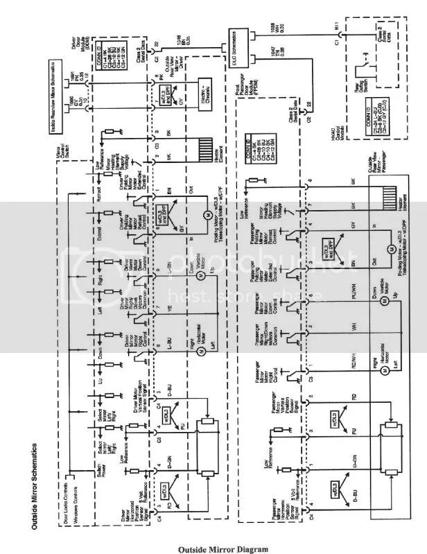 gm compass mirror wiring diagram