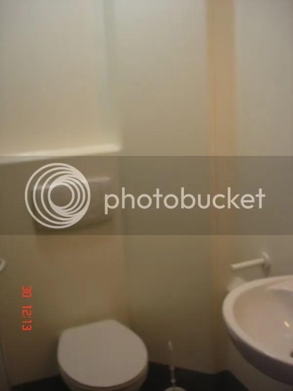 A sink, toilet shower combi job