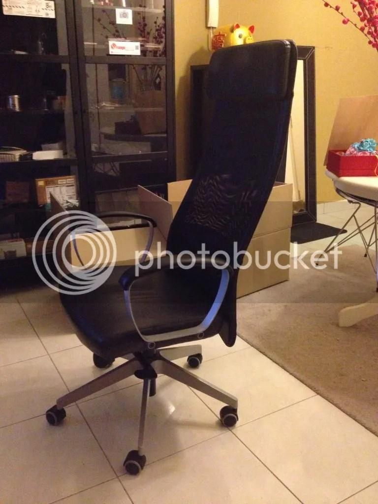 IKEA MARKUS Swivel chair black