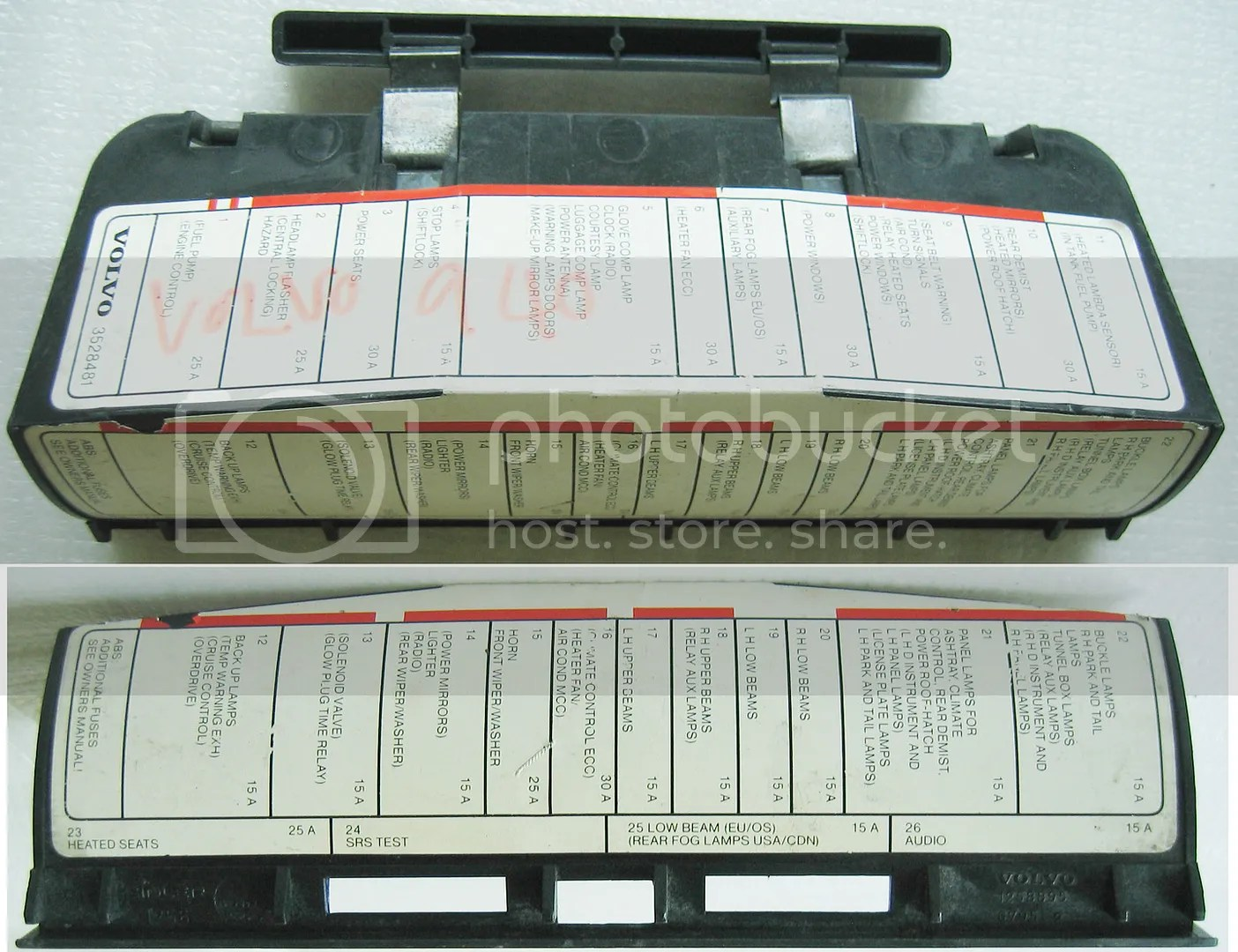 hight resolution of 1994 volvo 940 fuse box wiring diagram schemes