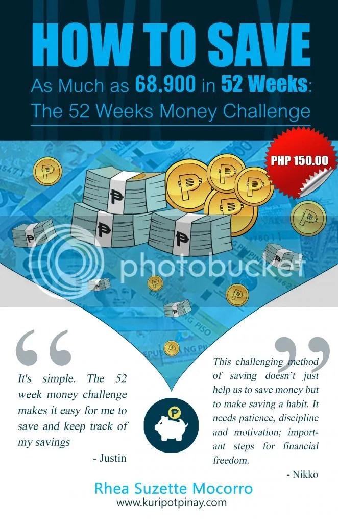 52 Weeks Money Challenge 2018 | Kuripot Pinay