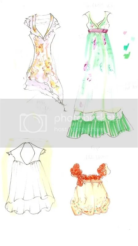 dresssketches