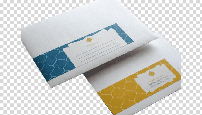 Wedding Invitation Business Cards Label