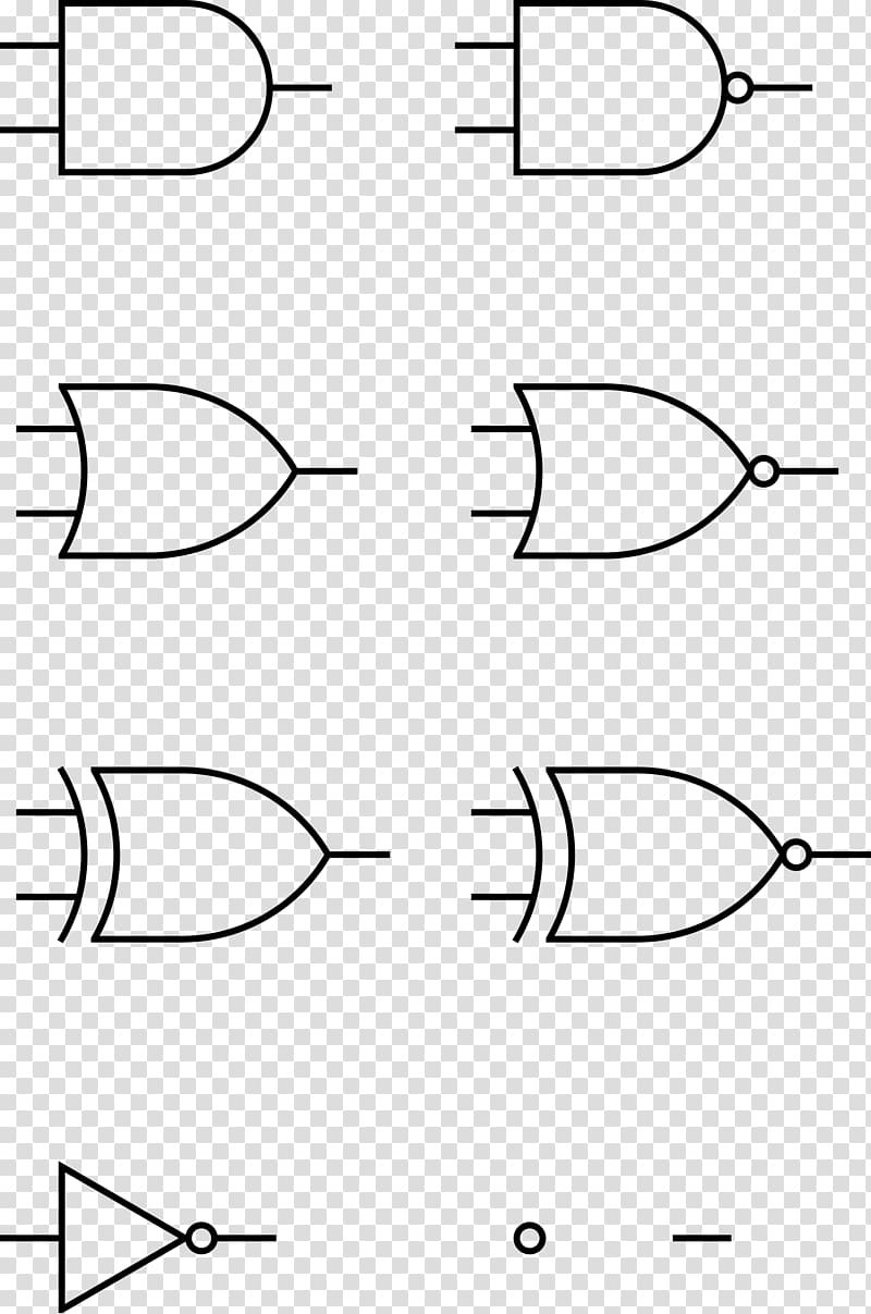 Logic gate Exclusive or , others transparent background