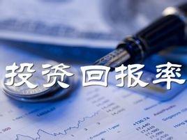 投資回報率_360百科