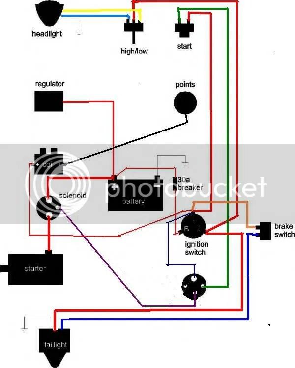 Fantastic Ironhead Chopper Wiring Diagram Crest - Electrical Circuit ...