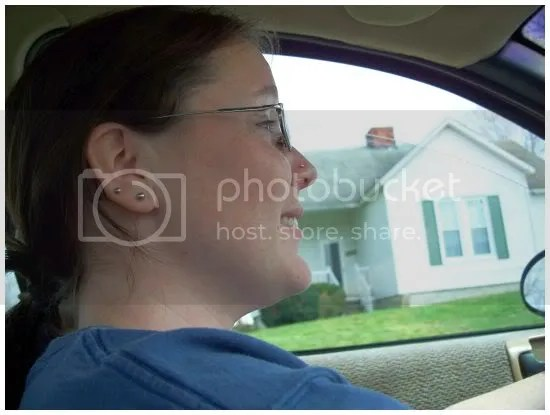 Don't take a picture of me...I'm driving!