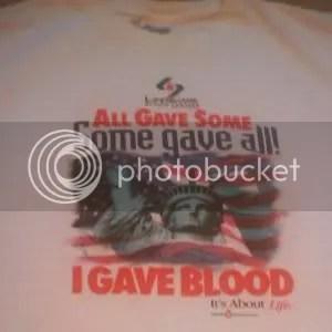 LifeShare shirt post 9-11