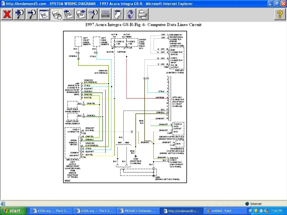 medium resolution of simple wiring harness write up for eg page 5 k20a org the k report this image
