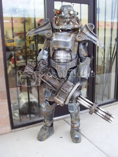 fallout power armor cosplay