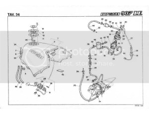 ducatipaso • View topic  Fuel pump replacement