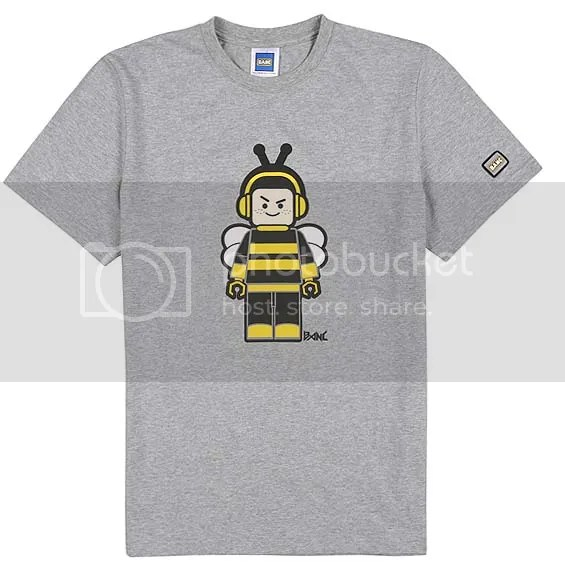 BANC gray Bee t-shirt