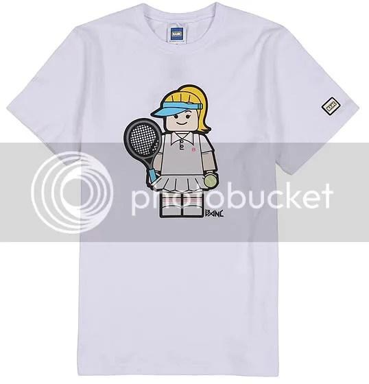 BANC white tennis t-shirt