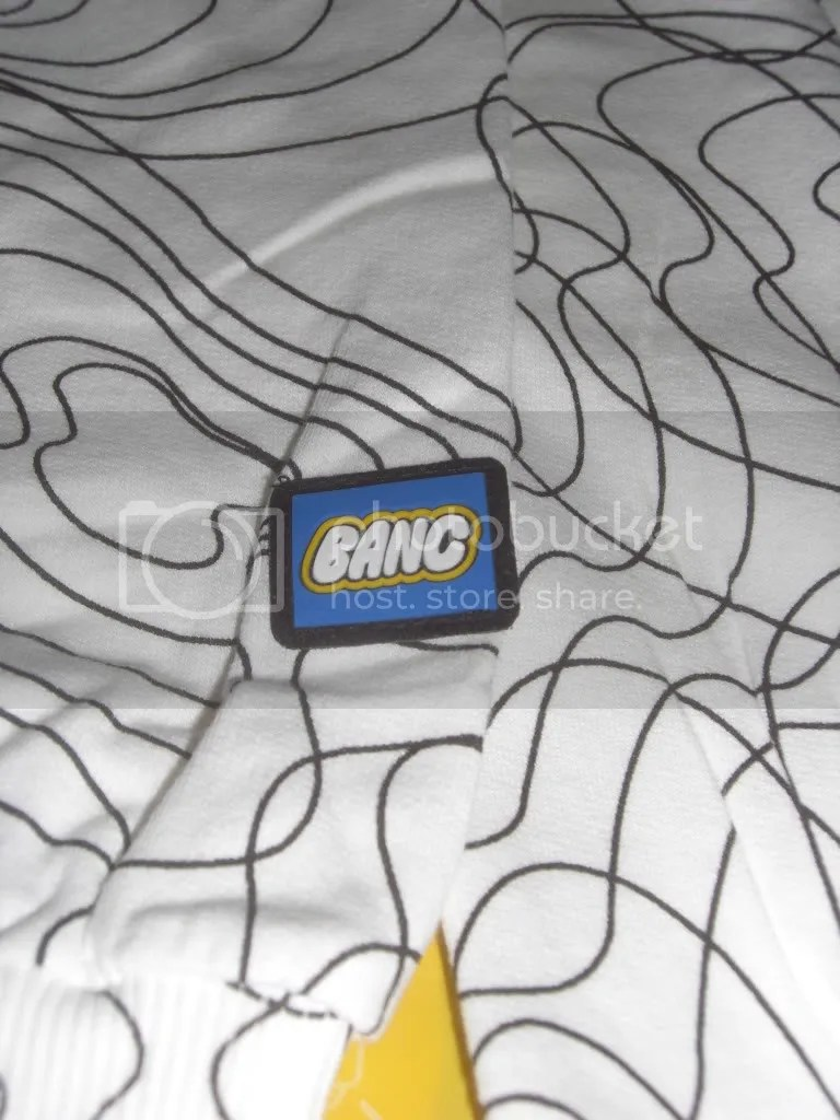 BANC Headphone Pattern Sleeve Logo