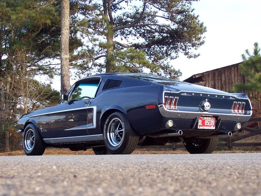 One of the most instantly recognizable movie cars of all time has been painstakingly restored and is going under the hammer one o. 1968 Ford Mustang Fastback Sold