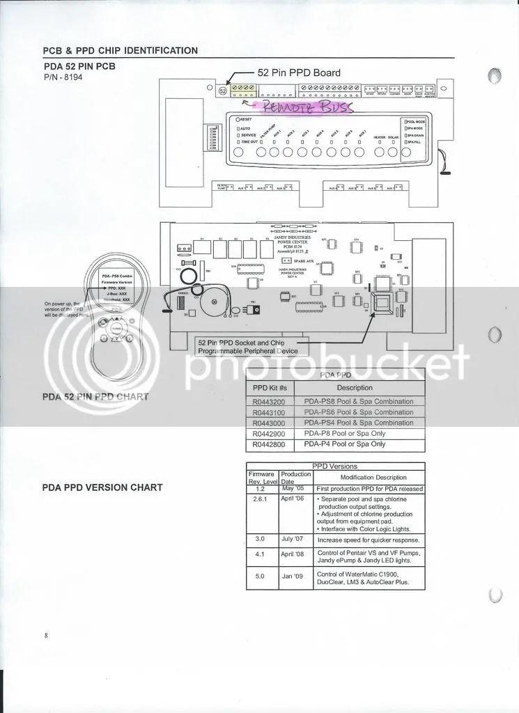 JANDY AQUALINK CONTROL PANEL WIRING DIAGRAM - Auto ... on