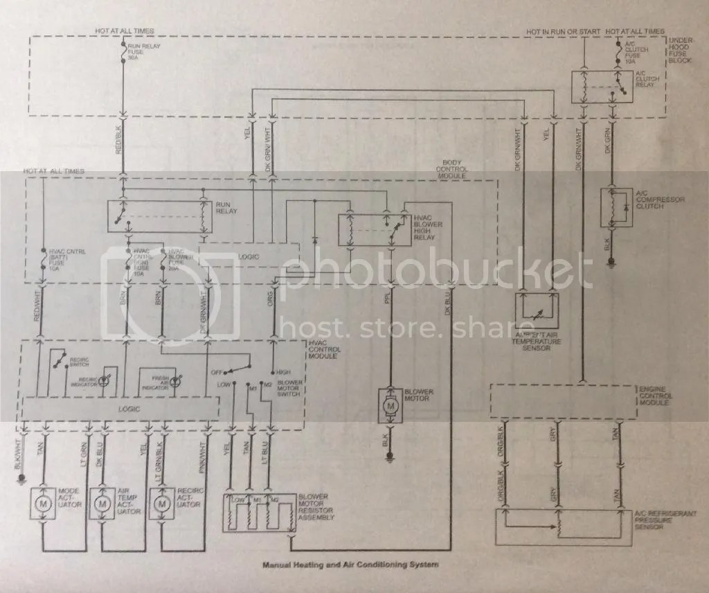 hight resolution of manual hvac