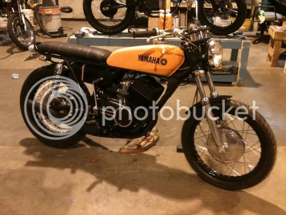 medium resolution of 1972 yamaha r5 350 a clockwork orange d u n done well at least for now