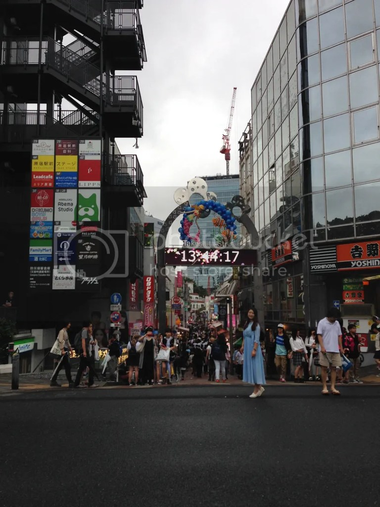 Fashion mecca Harajuku's Takeshita Street! To go here, just take the JR Yamanote Line and even the Tokyo Metro. I forgot which specific station it is if you used the other train