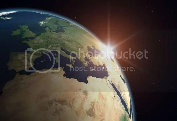 Earth from space, profile