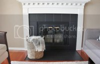 freckles chick: Fireplace (mini) facelift