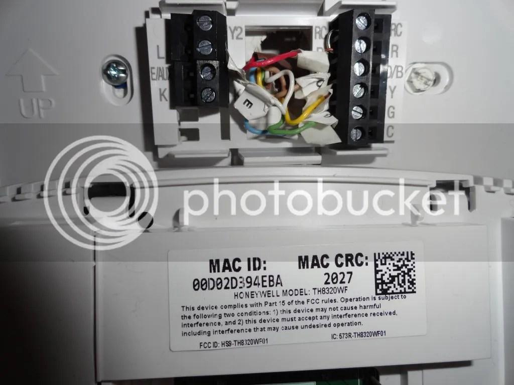 Honeywell Thermostat Heat Pump Wiring