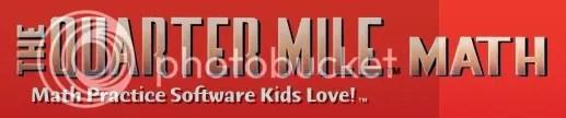 The Quarter Mile Math Logo