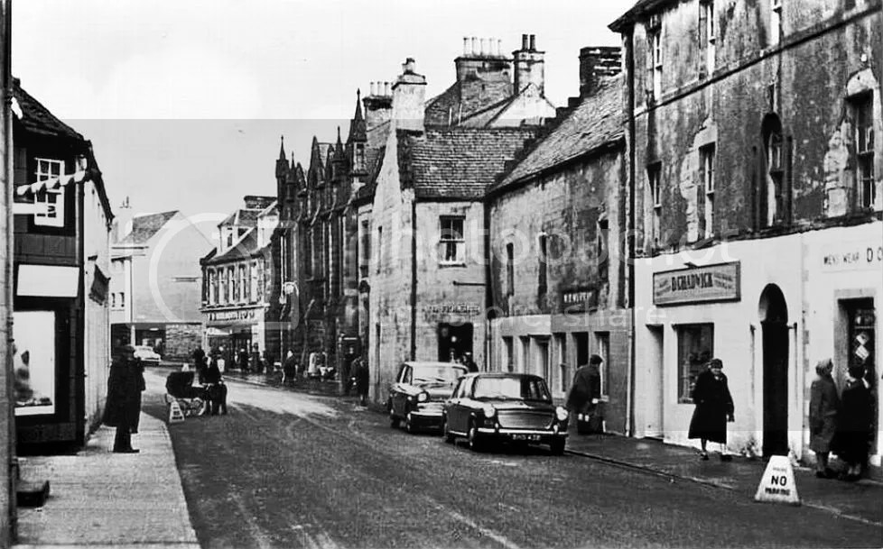 Image result for thurso town centre 1970s