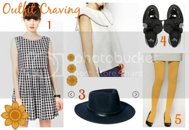 What I Wish I Wore :: Gingham, Monochrome and Ochre