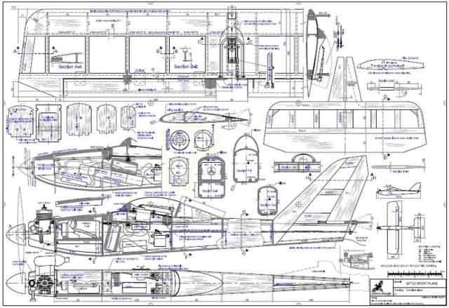 Model Airplane Plans Free